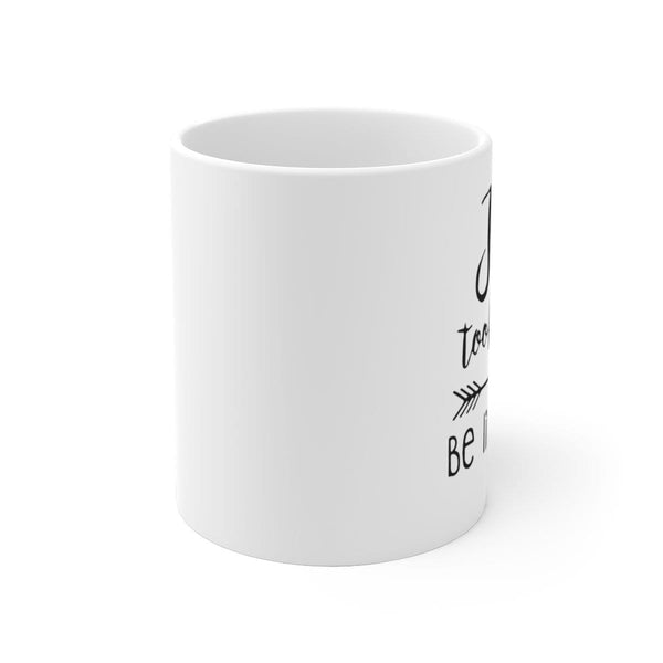 Jesus Took Naps White Ceramic Mug - Alively