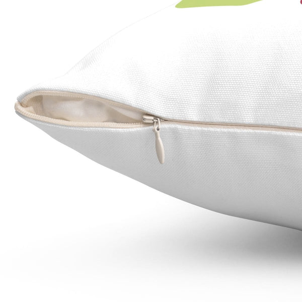 Amen Spun Polyester Square Pillow - Alively