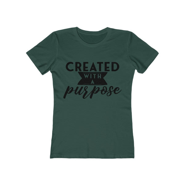 Created With A Purpose Women's Tee - Alively