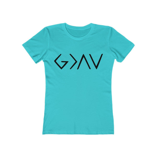 God Is Greater Than The Ups and Downs Women's Tee - Alively