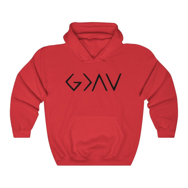 God Is Greater Than The Ups & Downs Unisex Hoodie - Alively