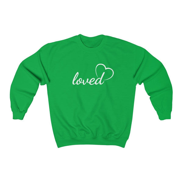 Loved Unisex Crewneck Sweatshirt - Alively