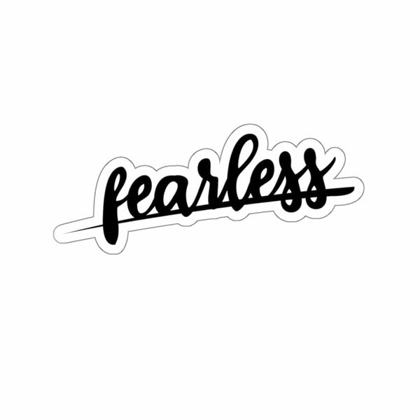 Fearless Kiss-Cut Sticker - Alively