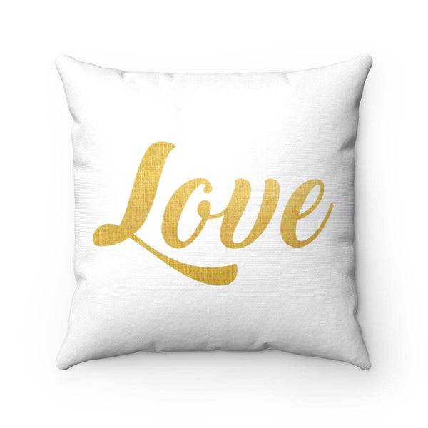 Love Square Pillow - Alively