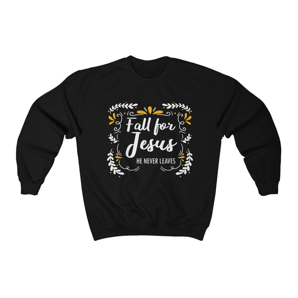 Fall For Jesus Unisex Crewneck Sweatshirt - Alively