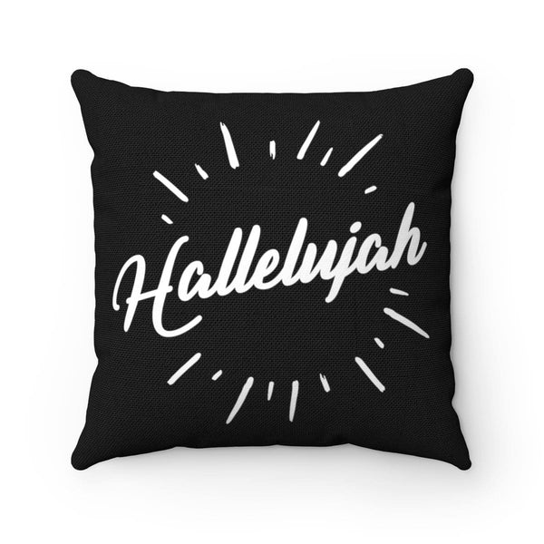Hallelujah Spun Polyester Square Pillow - Alively