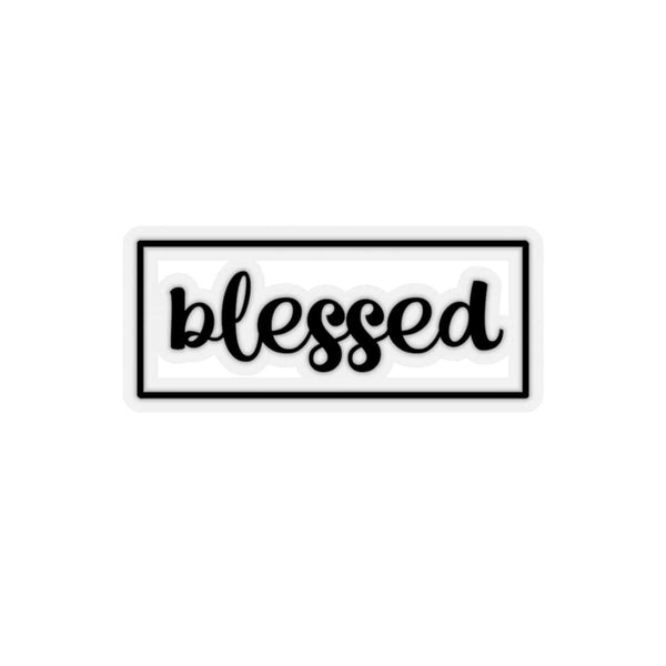 Blessed Kiss-Cut Sticker - Alively