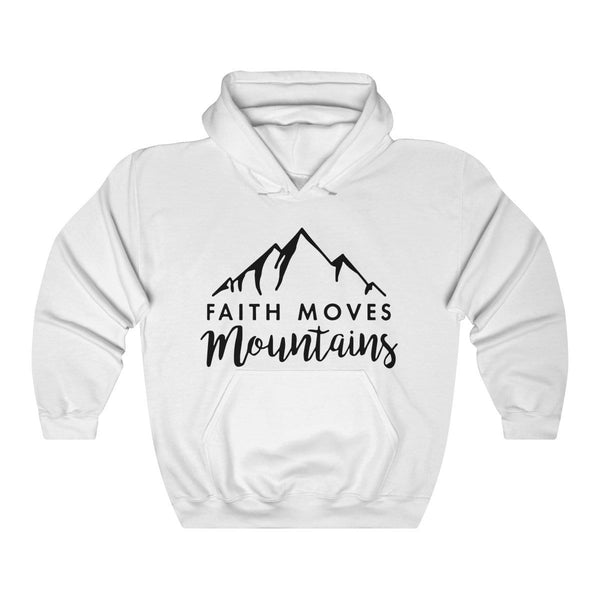 Faith Moves Mountains Unisex Hoodie - Alively