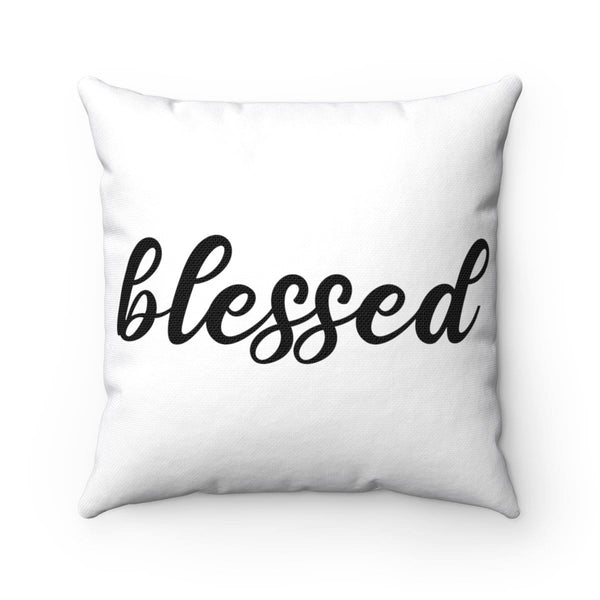 Blessed Square Pillow - Alively