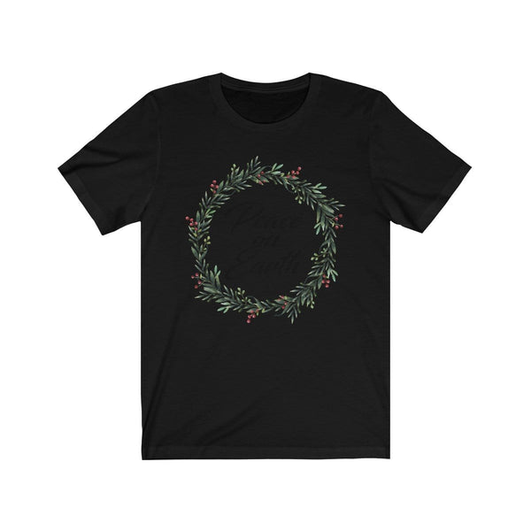 Peace On Earth Unisex Short Sleeve Tee - Alively