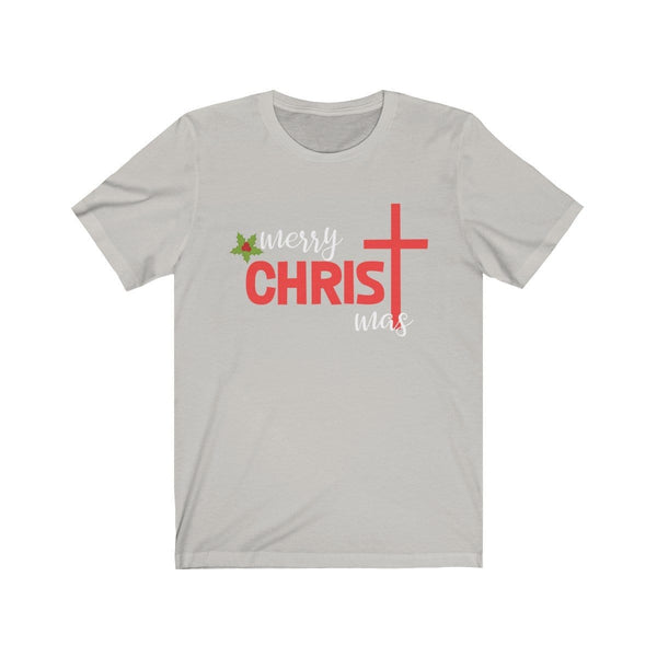 Merry Christmas Unisex Short Sleeve Tee - Alively