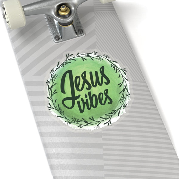 Jesus Vibes Kiss-Cut Sticker - Alively