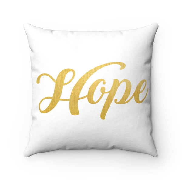 Hope Square Pillow - Alively