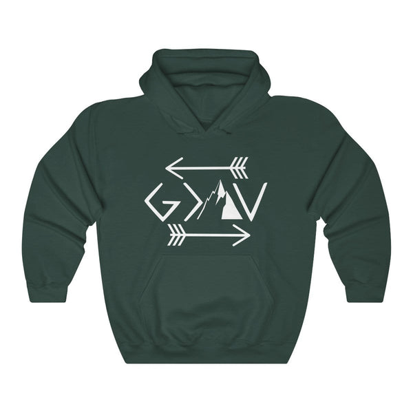God Is Greater Than The Highs And Lows Unisex Hoodie - Alively