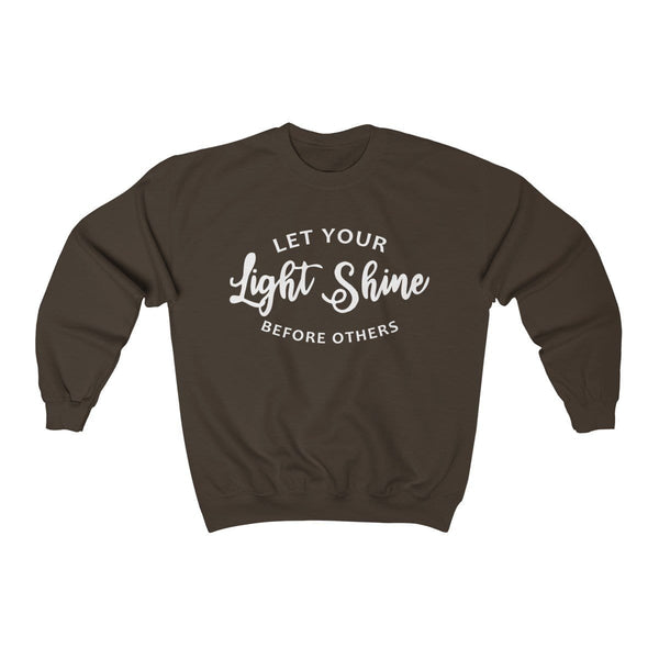 Let Your Light Shine Unisex Crewneck Sweatshirt - Alively