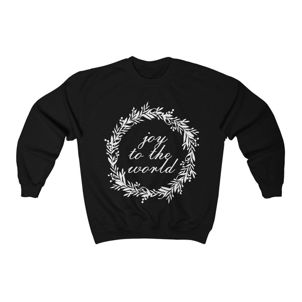 Joy To The World Unisex Crewneck Sweatshirt - Alively
