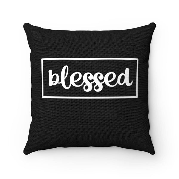 Blessed Spun Polyester Square Pillow - Alively