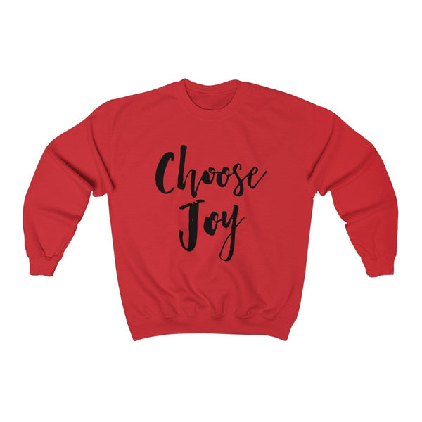 Choose Joy Unisex Crewneck Sweatshirt - Alively