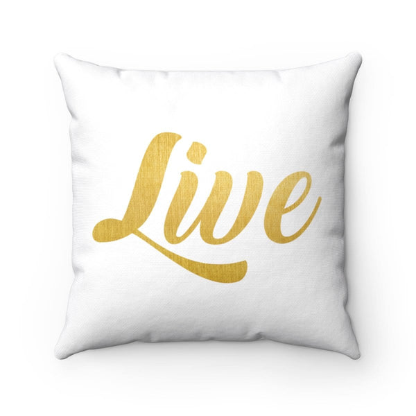 Live Square Pillow - Alively