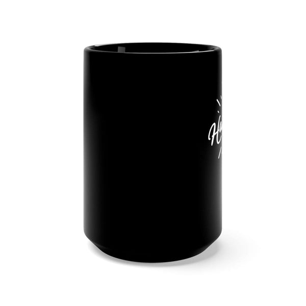 Hallelujah Black Mug 15oz - Alively