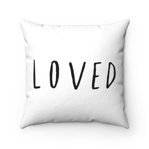 Loved Square Pillow - Alively