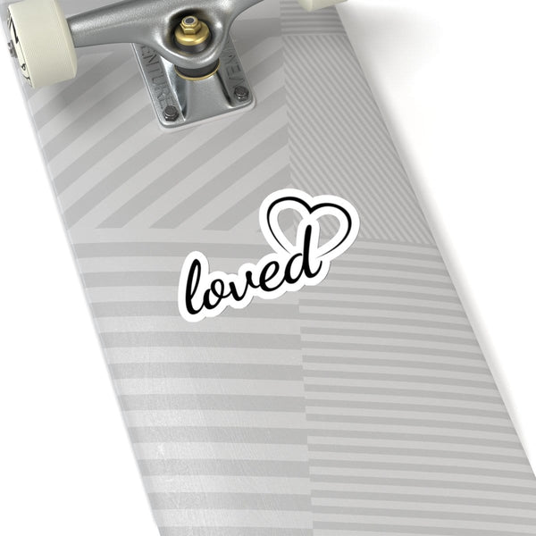 Loved Kiss-Cut Sticker - Alively