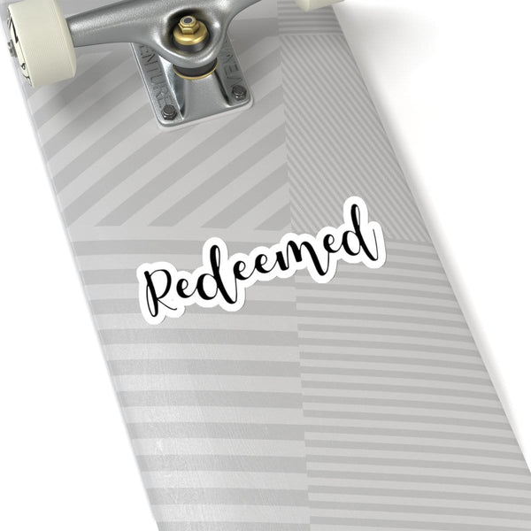 Redeemed Kiss-Cut Sticker - Alively