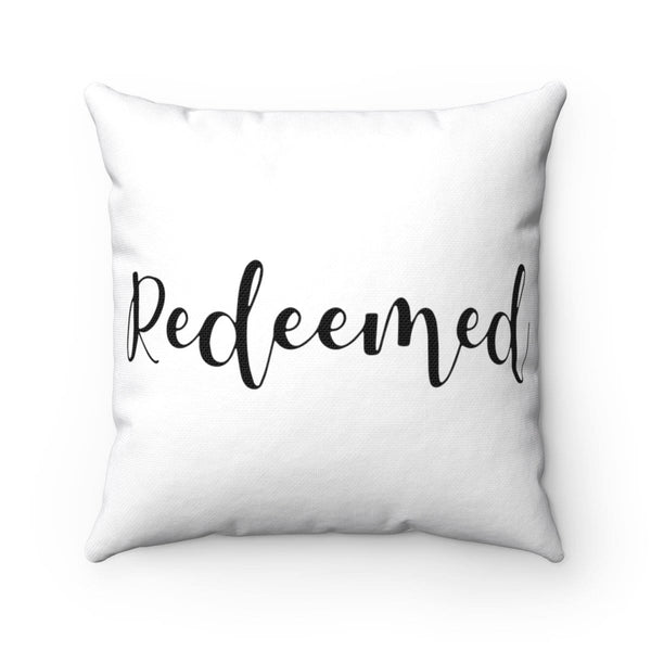 Redeemed Square Pillow - Alively