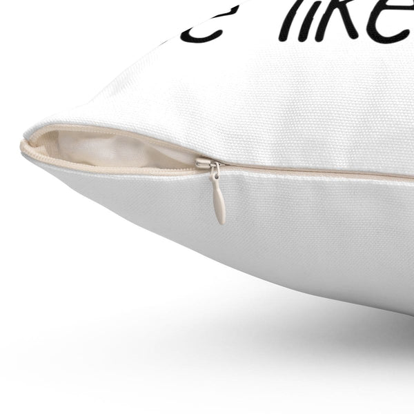 Jesus Took Naps Square Pillow - Alively