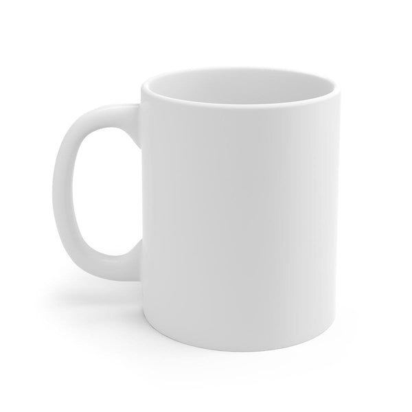 Be Still and Know White Ceramic Mug - Alively