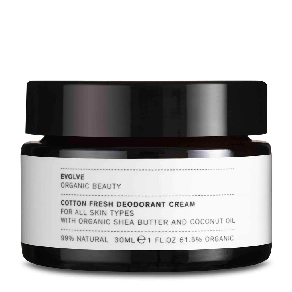 Cotton Fresh Deodorant Cream - The Natural Beauty Club