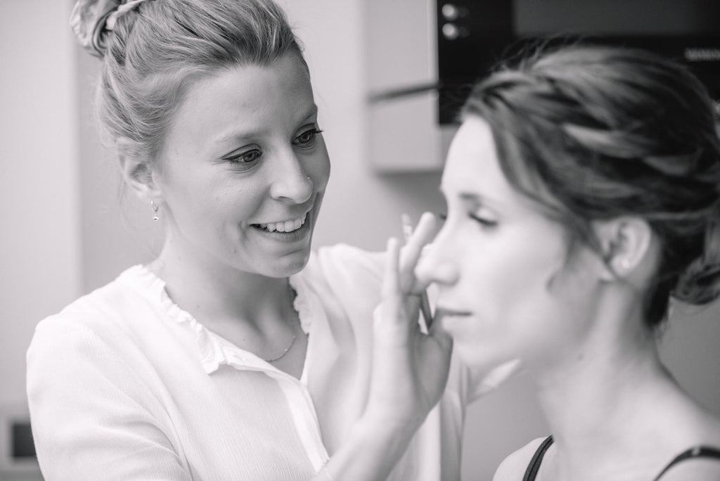 The Big Day: Dry-Do + Dag Make-up