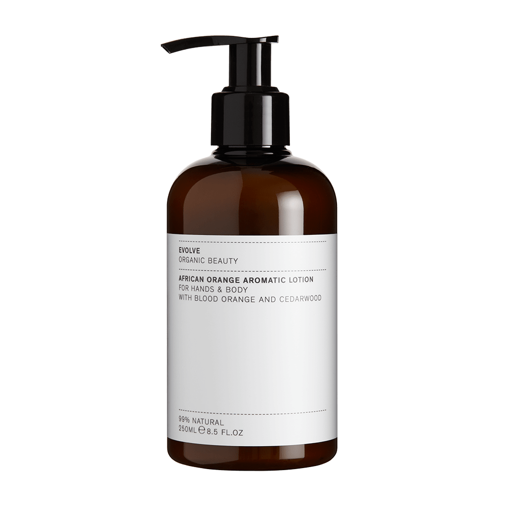 African Orange Aromatic body lotion - The Natural Beauty Club