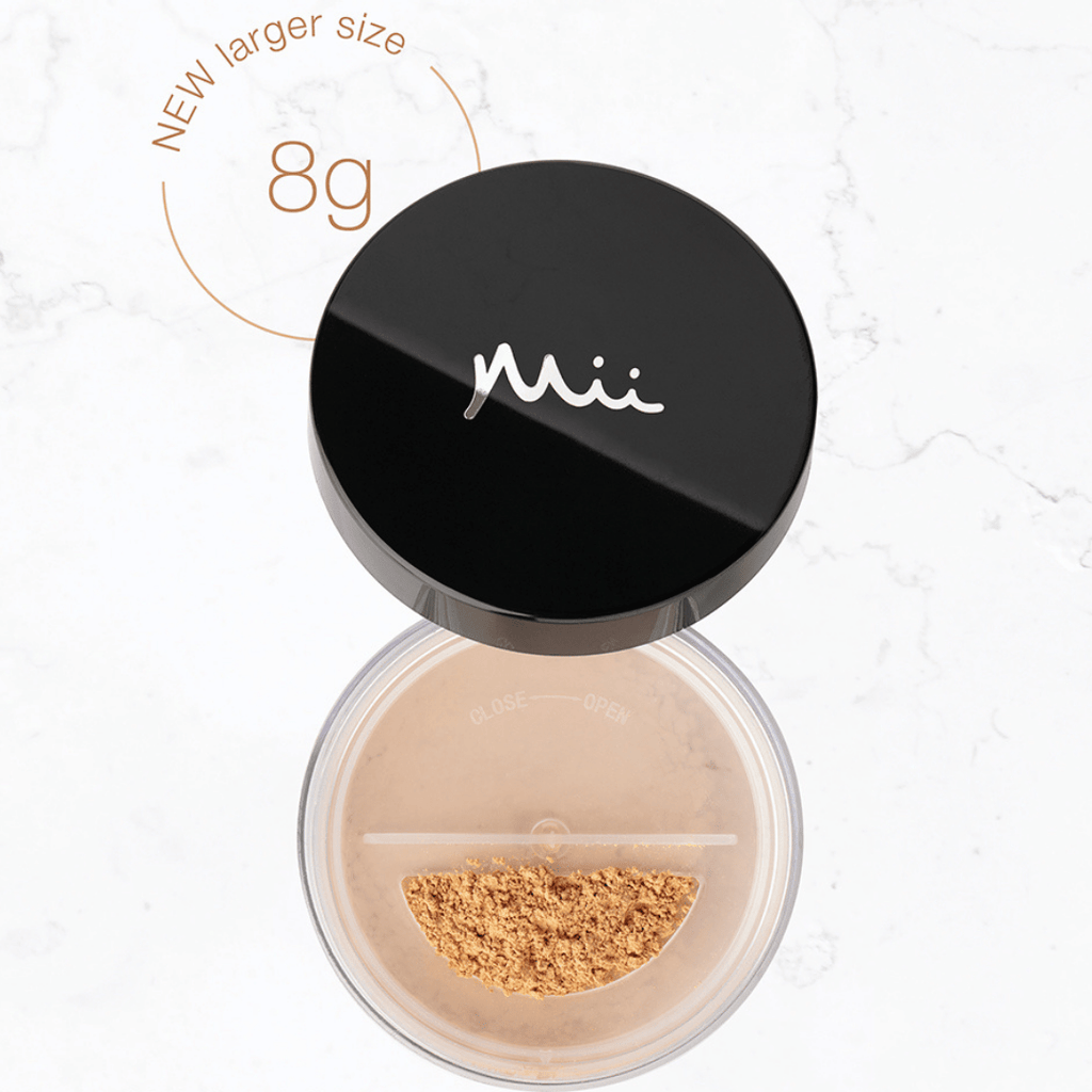 MII - Mineral irresistible face base - Full size - The Natural Beauty Club