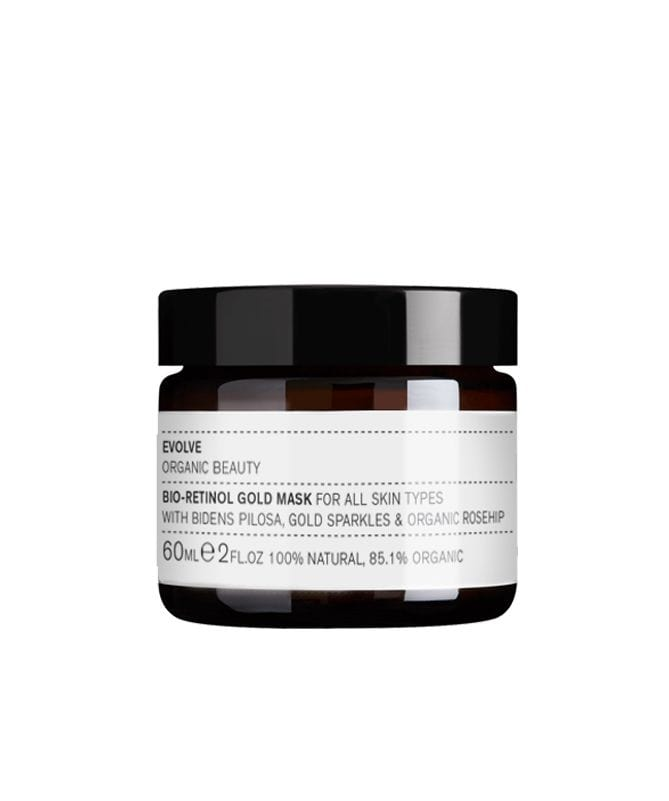 Bio- Retinol gold mask. - The Natural Beauty Club