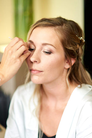 Bruidsmake-up op Trouwdag @ Home - The Natural Beauty Club