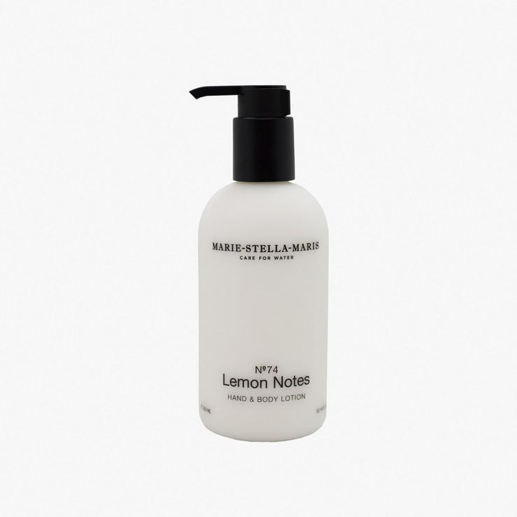 Hand & Body Lotion No. 74 Lemon Notes - The Natural Beauty Club