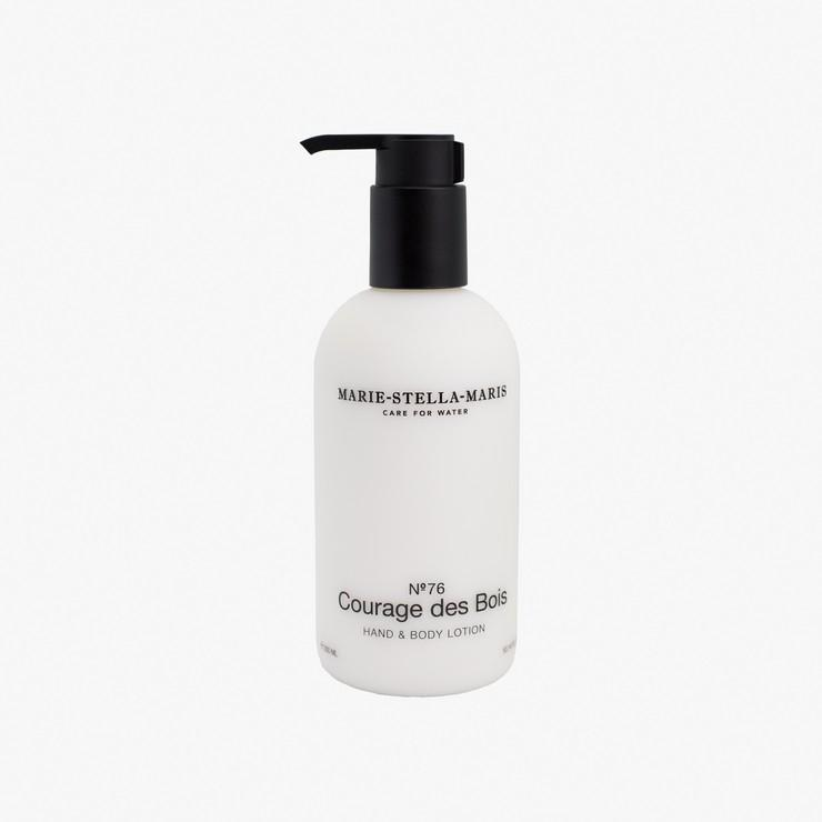 Hand & Body Lotion No. 76 Courage des Bois - The Natural Beauty Club