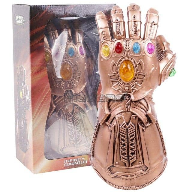 Thanos Infinity Gauntlet Avengers Infinity War Gloves Superhero Action Figure