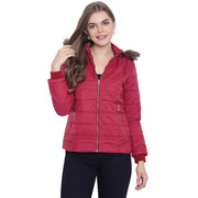 Women's Jackets Maroon