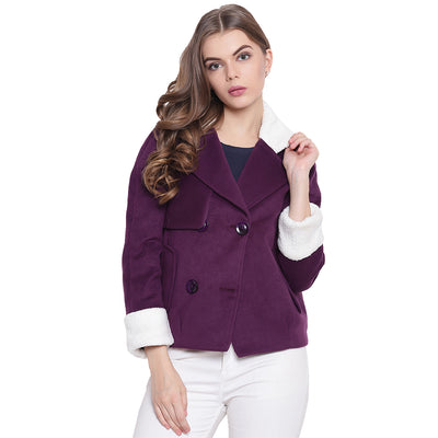 Women's Jackets Purple