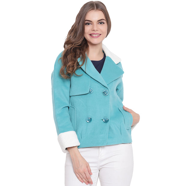 Women's Jackets Turquoise