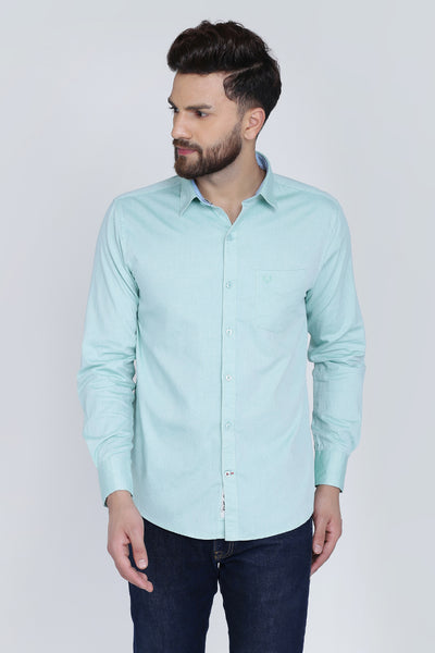 Men Green Shirt