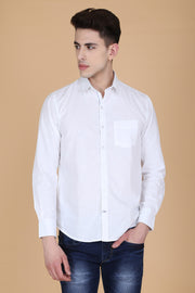 Men White Shirt