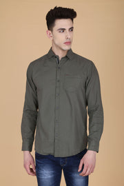 Men Grey Shirt