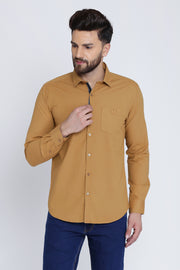 Men Brown Shirt