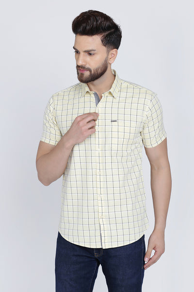 Men Yellow Shirt