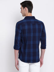 Mens Blue & Light Blue Shirt