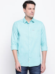 Mens Green Shirt
