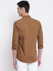 Mens Brown Shirt